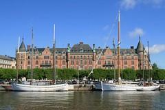 Stockholm stermalm (sramses177) Tags: boat ship waterfront sweden stockholm schweden sverige segelboot sude stermalm strandvgen love2010