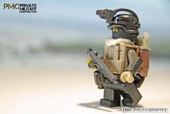 PMC full Silver 2 (Shobrick) Tags: private amazing war lego military custom armory contractor irak pmc brickarms brickforge