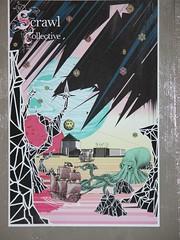 Scrawl Tate Poster in situ (Olkiluoto) Tags: modern mural tate scrawl 2010