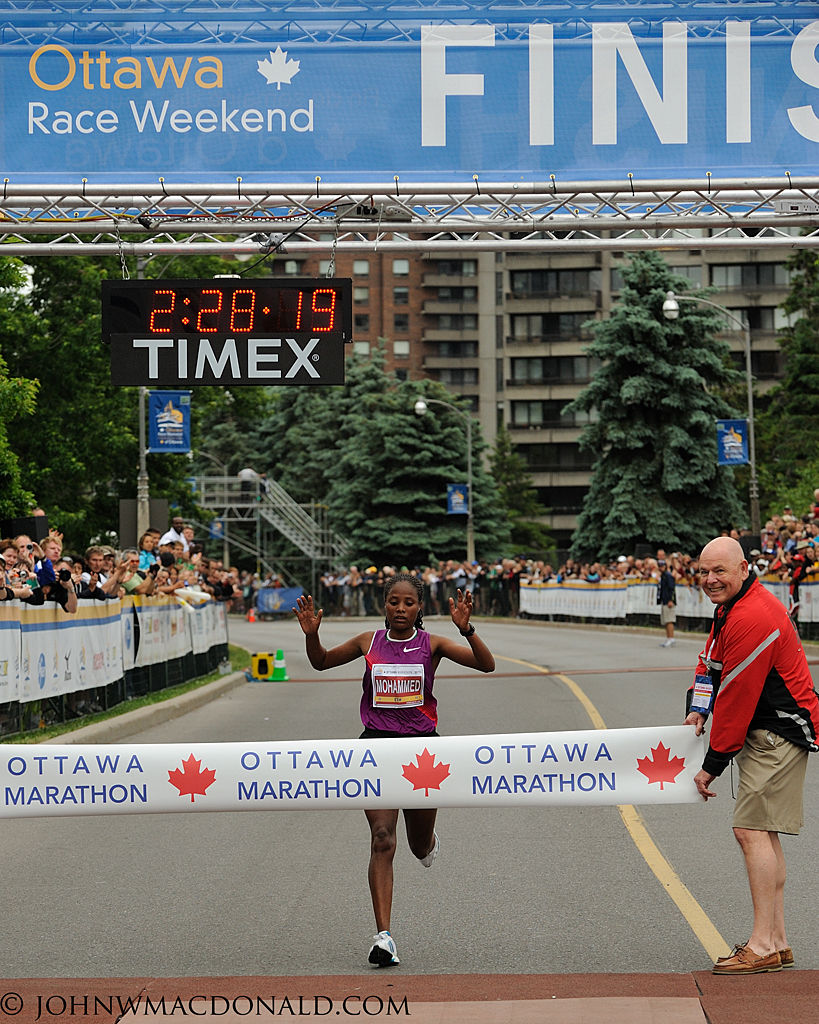 Merima Mohammed - Winner Ottawa Marathon