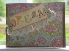 Dream (Card Candy Boutique) Tags: paper cards handmade note greetings stationary papercrafts greetingcards handmadecards httpwwwcardcandyboutiqueetsycom