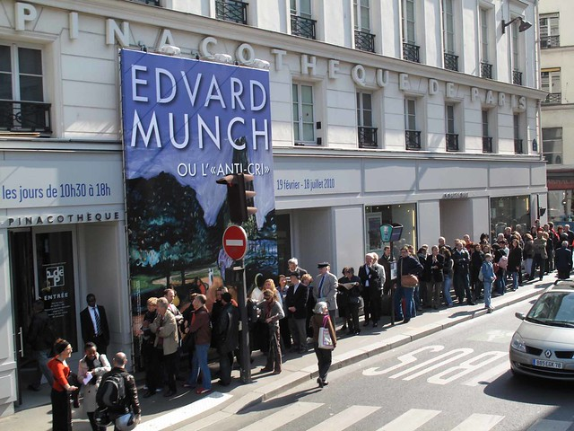 Edvard Munch exhibition in Paris