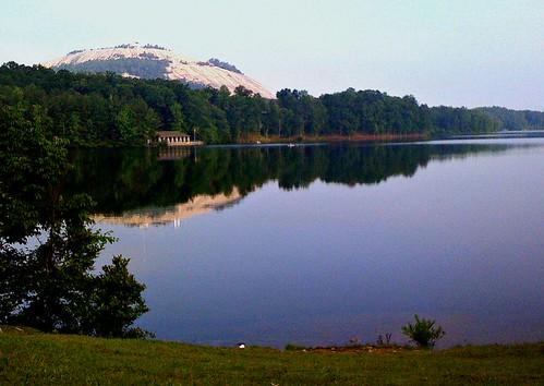 Morning Stone Mountain