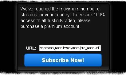 como obtener cuentas pro de justin.tv gratis