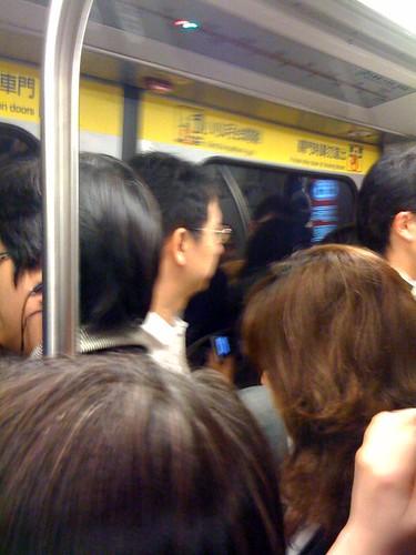 台北MRTの帰宅ラッシュ