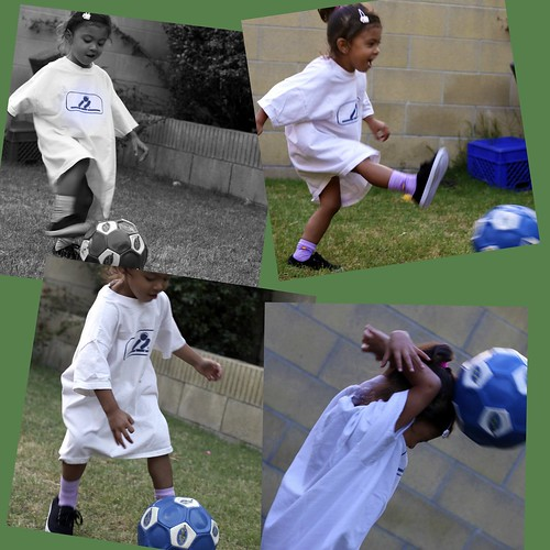 Rylee soccer collage