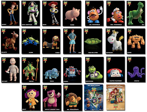 toy story 4 2012. People can collect all 26 Toy
