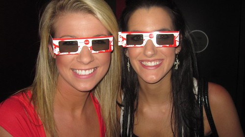 Kylie & Candace Coca Cola Glasses