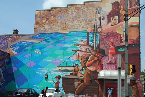 fells point, baltimore mural