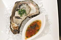 Raw oyster, Tatsuya, Goodwood Hotel