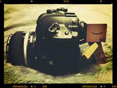 13/365 (moobelle*) Tags: camera nerd olympus styles nikkor e1 lense danbo amazoncojp pictureshow revoltech