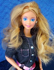 Super Hair Barbie 1986 (Chicomttel) Tags: hair barbie super 1986 mattel inc