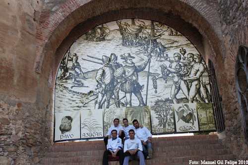 Cuadrilla en Arco muralla Cieza de León