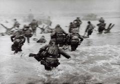 Omaha beach (airfixalf) Tags: photo dday worldwar2 robertcapa omahabeach amercain