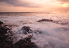 I'm here (Dyahniar Labenski) Tags: sunset bali beach nikon d90 1024mm pererenan seasceape