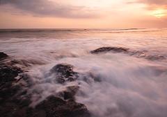 I'm here (Dyahniar Labenski) Tags: sunset bali beach nikon d90 1024mm pererenan seasceape