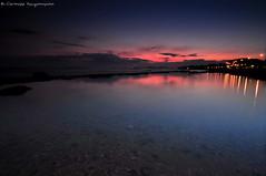 .. (Christophe_A) Tags: longexposure sunset sea orange reflection beach colors nikon colorful purple crystal dusk tripod athens greece bluehour christophe grad cokin sounio d90 anavyssos christopheanagnostopoulos χριστοφοροσαναγνωστοπουλοσ χριστόφοροσαναγνωστόπουλοσ