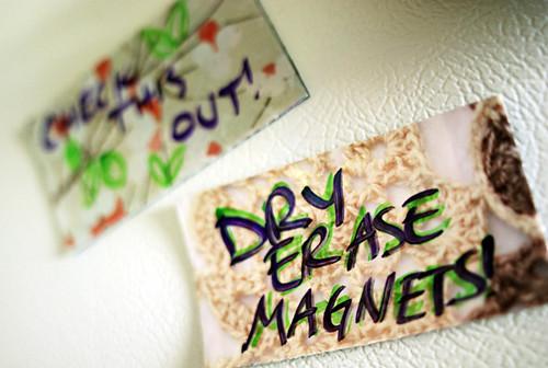 Dry Erase Magnets!