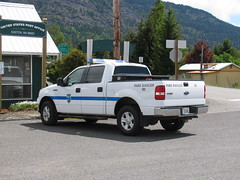 Washington State Park Ranger - Easton State Park (BC Medic Boss) Tags: truck postoffice pickup washingtonstate kittitascounty easton parkranger fordf150 washingtonstateparks
