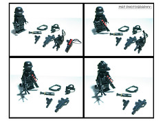 Black op load (Shobrick) Tags: black brick amazing lego military weapon op custom armory brickarms brickforge