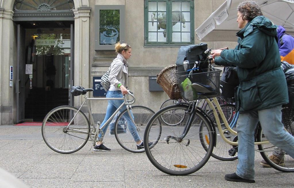 Cykelgang i Købmagergade
