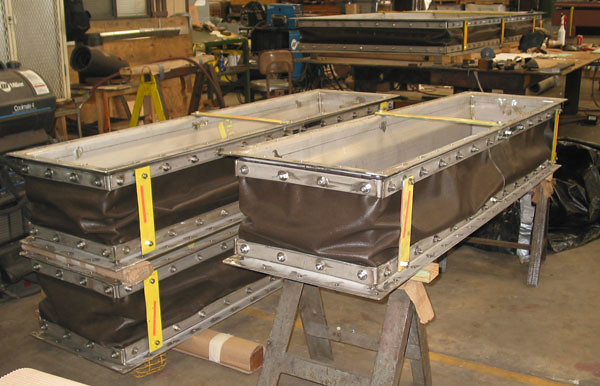 3 Fabric Expansion Joints for a Power Company in Texas