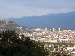 Grenoble vue de la route qui monte  St Nizier (fred_v) Tags: grenoble vercors