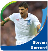 Pictures of Steven Gerrard!