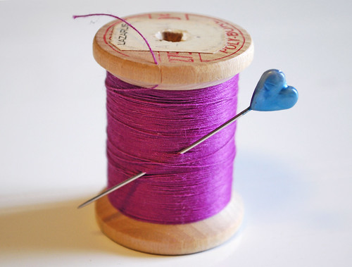 purple thread by boutiquenutmegdesigns