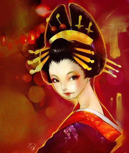 Oiran (Night version)