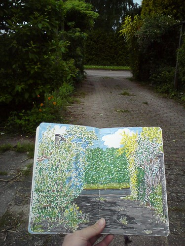 driveway-sketching