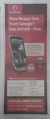 one google vodafone android nexus pixelpipe (Photo: osde8info on Flickr)