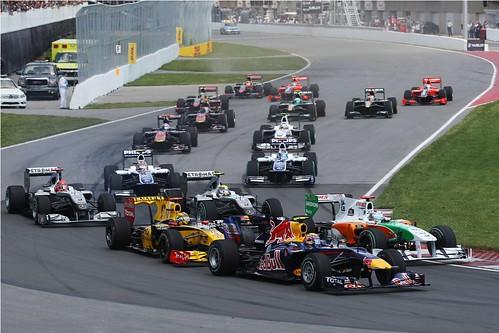 GP do Canadá 2010 - Largada