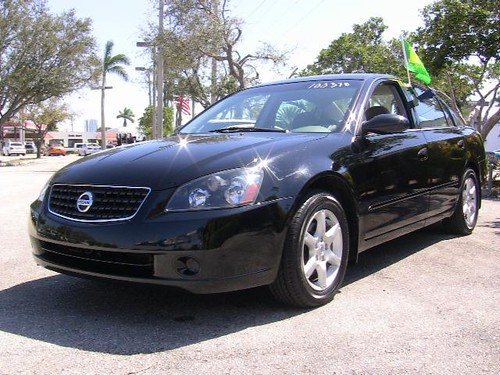 2006 Nissan Altima S with Factory Warranty