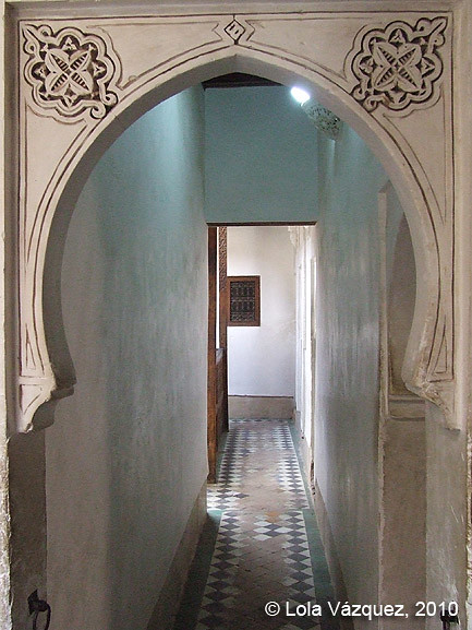 Madrasa Ben Yussuf. © Lola Vázquez, 2010