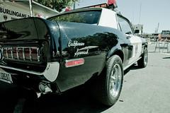 California Special (Samuel Pasquier) Tags: car police burlingame fordmustang 4great copscar policefordmustang californiaspecialfordmustang