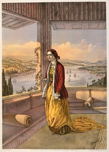 007-Mujer armenia en su casa-The oriental álbum 1862- J.H. Van Lennep