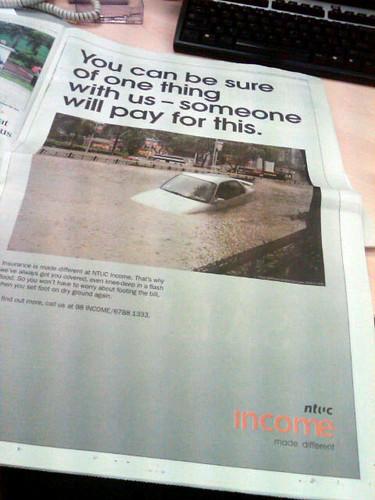 NTUC advertisement