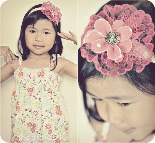 DIY Flower Power Hairband