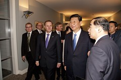 PM Key with Vice President Xi Jinping