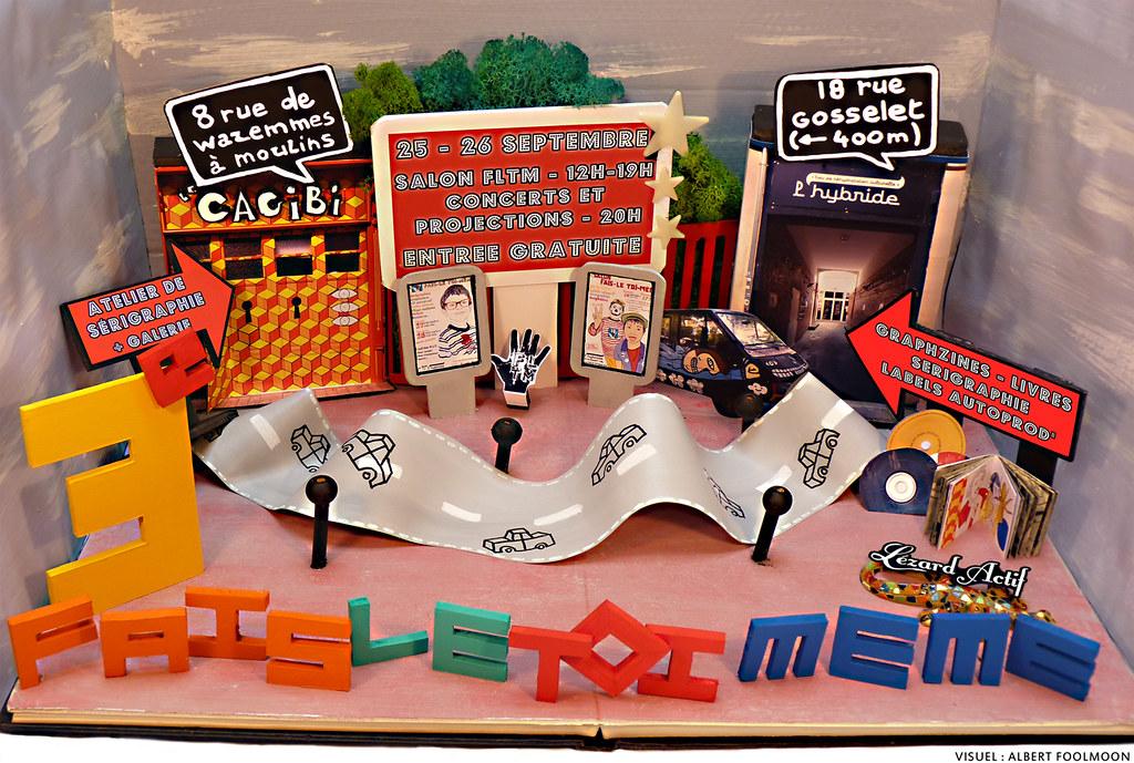 Affiche pour le 3e salon Fais-Le Toi-Meme 2010