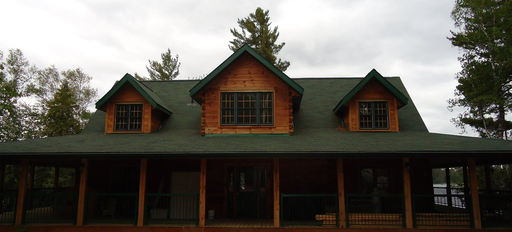 Temagami Cottage with Geothermal Heating Source and Radiant Floor Warming Distribution.