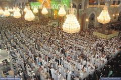 تزاحم زائري الإمام ابي عبد الله الحسين عليه السلام  في اول يوم خميس من شهر رجب