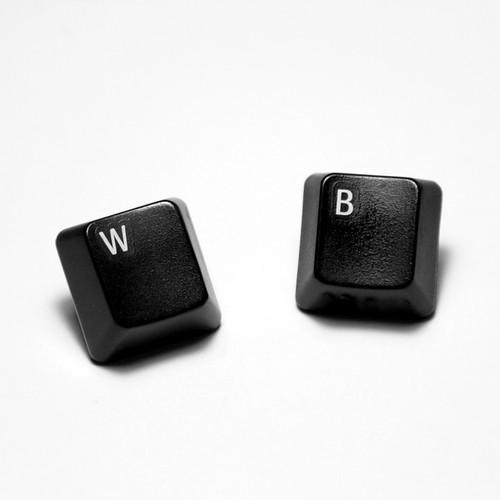 Teclas W y B de teclado de ordenador