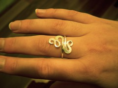 Brass ring from celtsmith