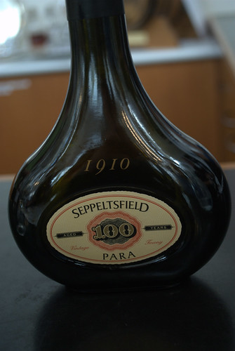 100 years old, $30 to taste, $375 a bottle