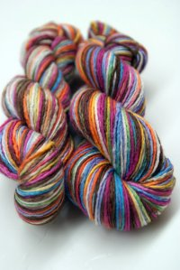 'ellie's rainbow' merino/silk single ply