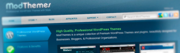 Premium WordPress Themes - WP Blog Templates ‹ ModThemes