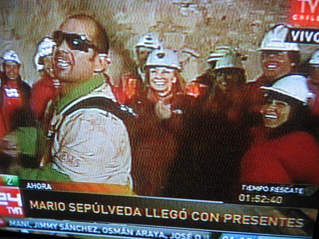 Thumb Fotos del Segundo minero rescatado, Mario Sepúlveda