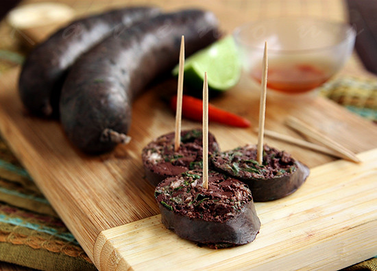 blood sausage doi huyet